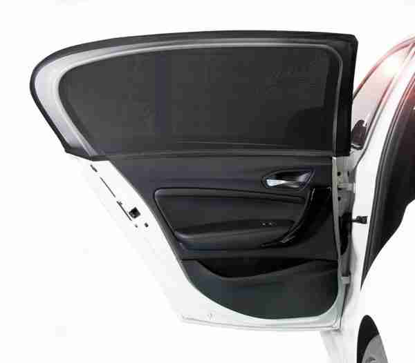 Our 2 pack of universal Venture car window shades will fit mosts shapes of door.