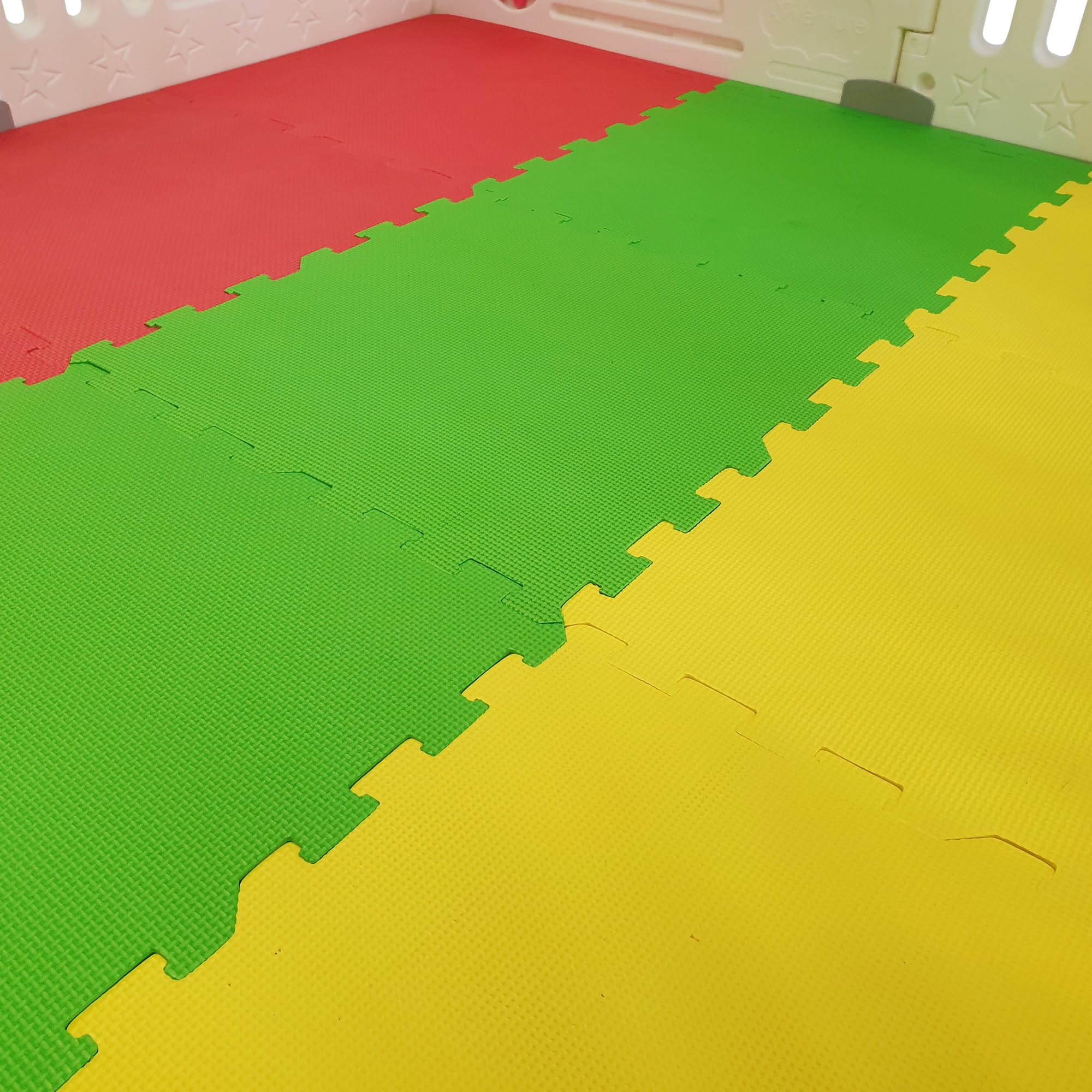 Our PVA foam mats are made from child safe materials.