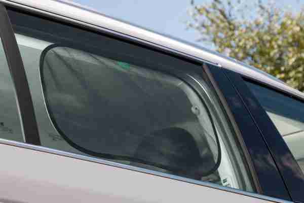 Our universal car window shades can be easily attached to any car window