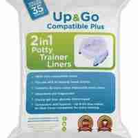 Pote Plus travel potty liners 35 pack