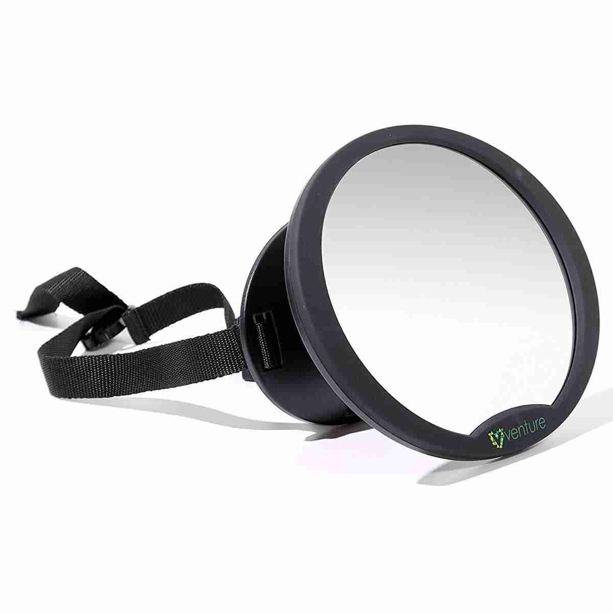 Baby car mirror made from high quality plastic and shatterproof mirror