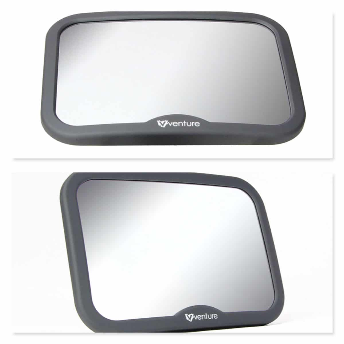 The Venture Acti-Vue car mirror features anti shake moulds to prevent shaking