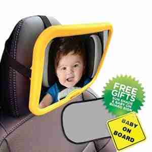 Venture Acti-Vue car mirror with free gifts