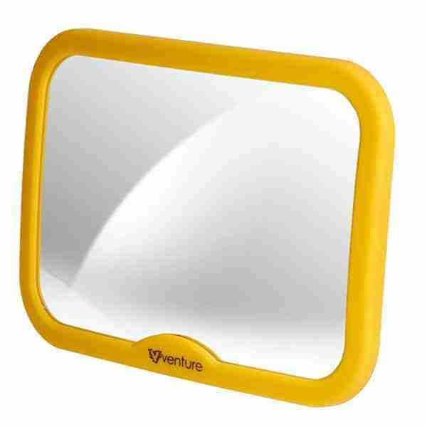 The Venture Acti-Vue mirrors color is eye catching for your child