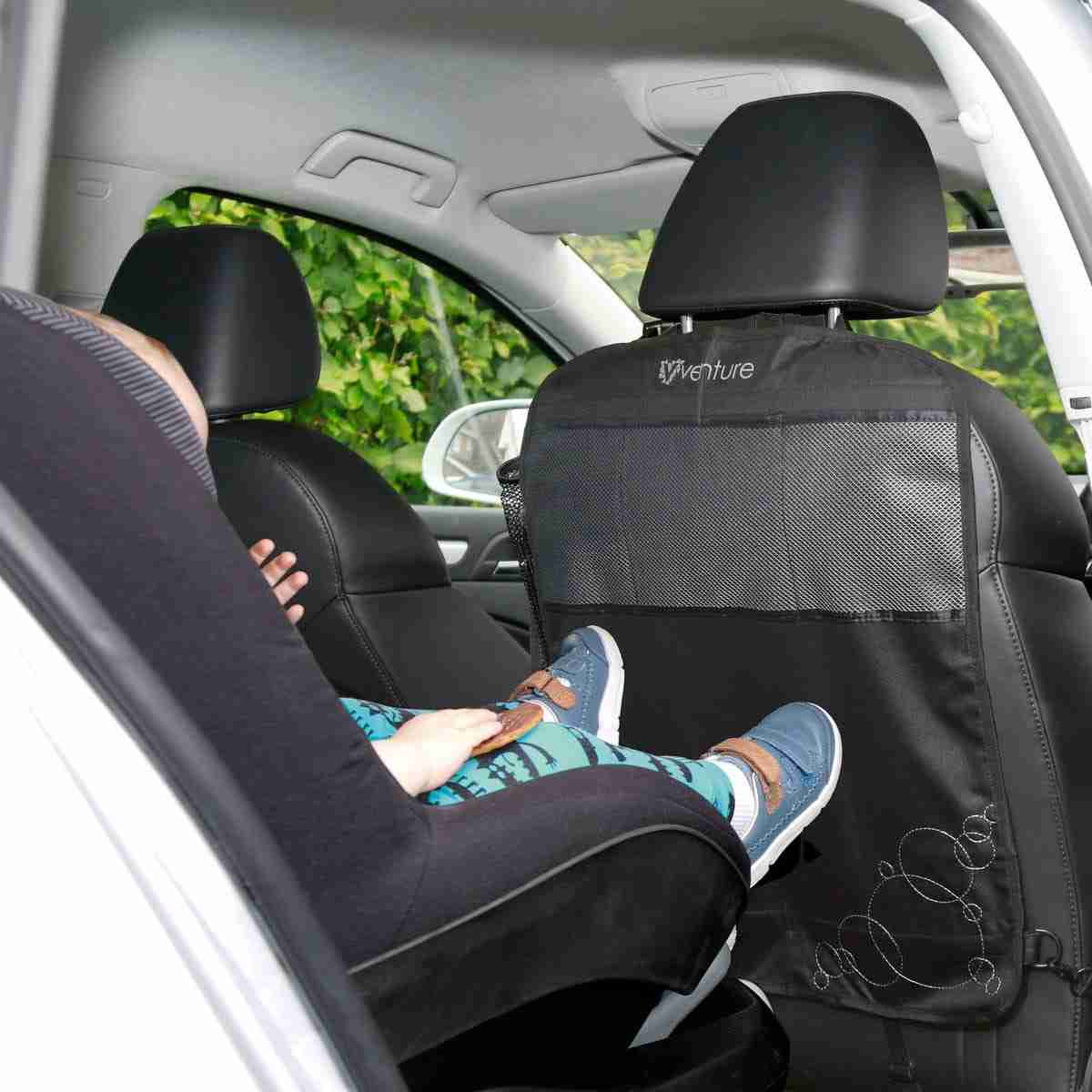 Venture Kick mats protect your car seats from marks and scuffs