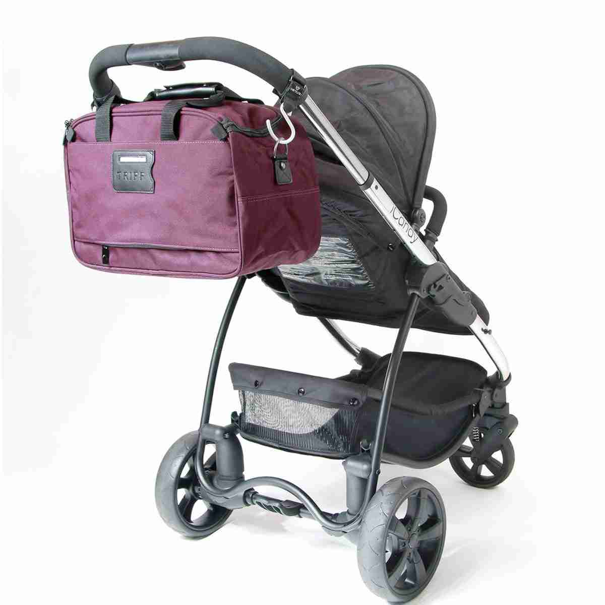 Keep your changing bag safetly attached to your buggy