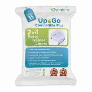 Venture universal potty liners 35 pack
