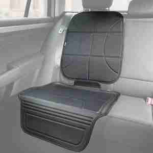 Heavy duty car seat protector for car seats