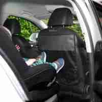 The Venture heavy duty kick mat keeps your car seats protected from scuff and bumps
