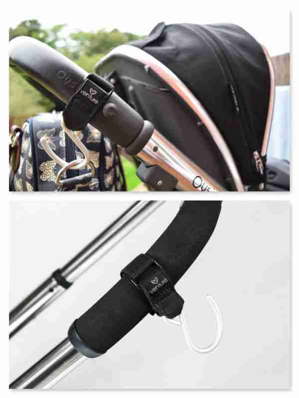 Venture stroller hooks make shopping that little bit easier