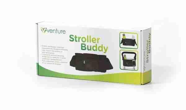 Venture stroller and pram organiser packaging