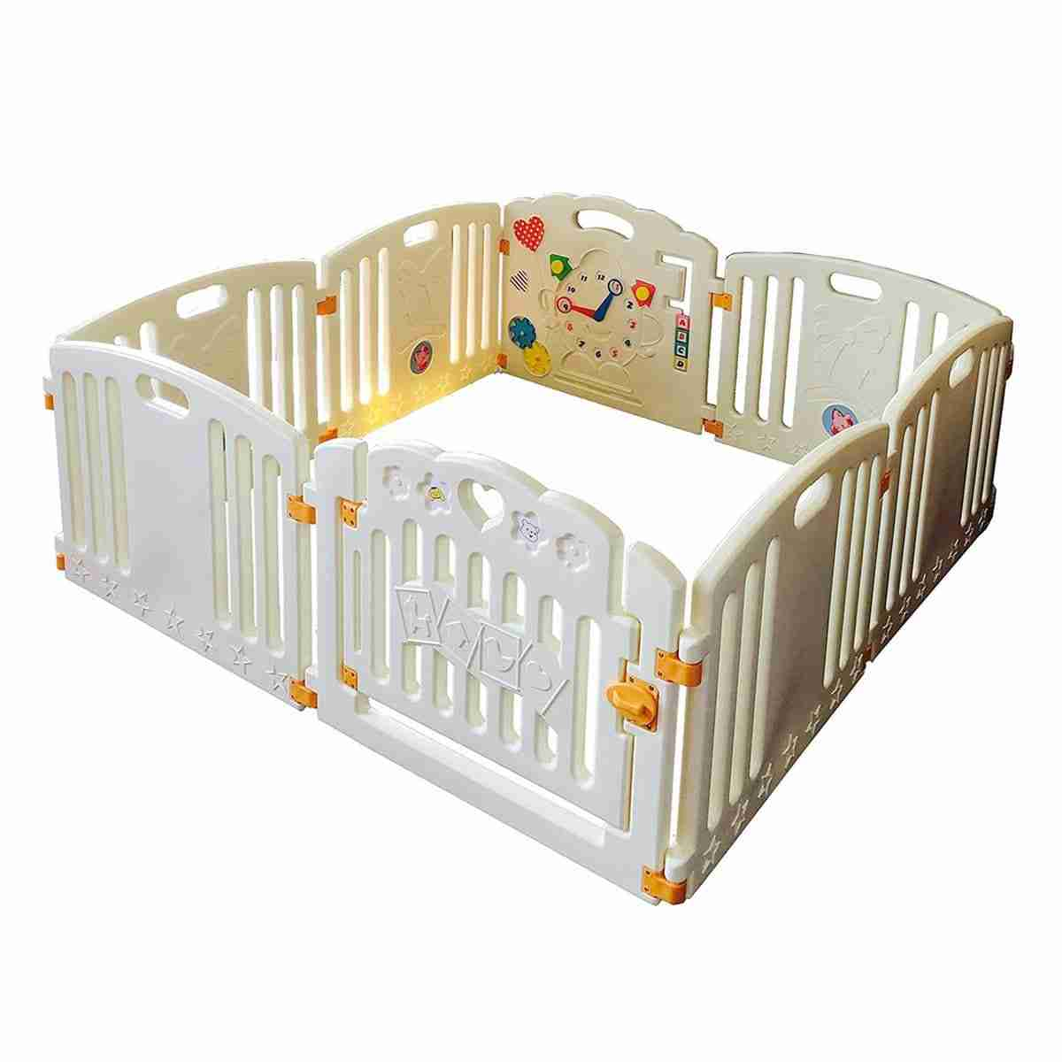 Birthday Gift Playpen Nursery Playpen Children Play Pen play Mats Included
