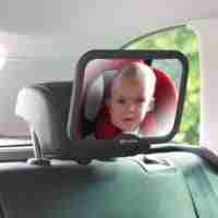 Our Acti-Vue car mirrors give you a great view of your little one whilst your travelling