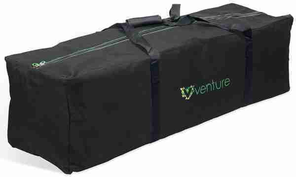 The Venture Pram travel bag is made from highly durable robust materials