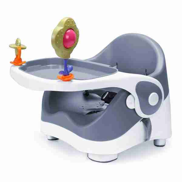 Venture Q-Fix portable high chairs are compact, lightweight and easy to store.