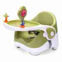 The Qfix Booster baby seat is a convenient, comfortable solution for baby feeding in-home or on-the-go.