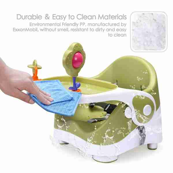 Venture Q-Fix portable travel high chairs are made from environmentally friendly materials