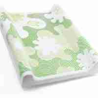BabyDam changing mat in green.