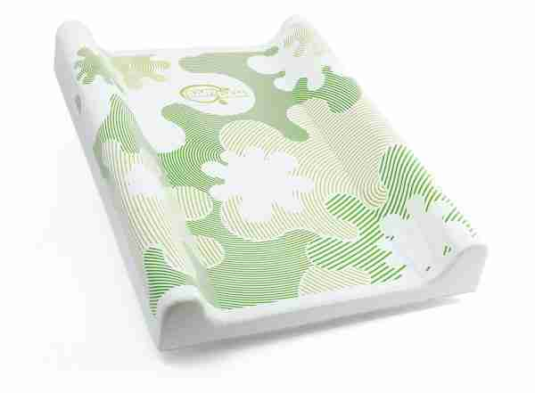 BabyDam changing mat in green.
