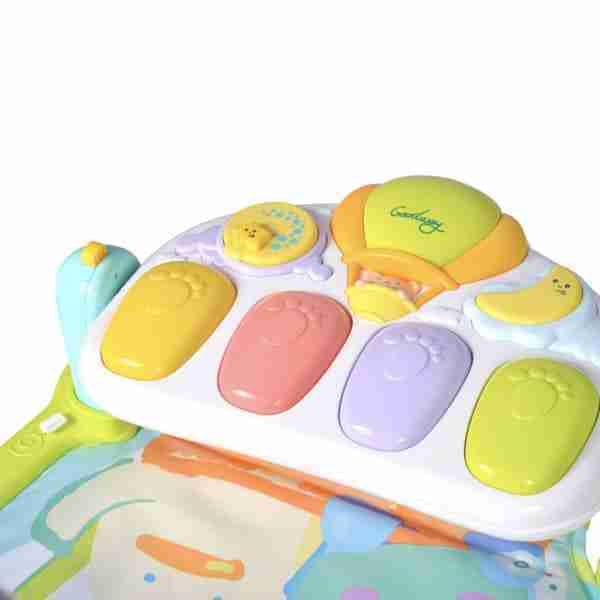 Colourful kick piano for baby to play