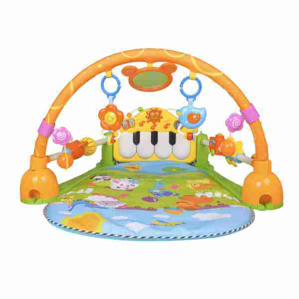 Packed with fun toys and music