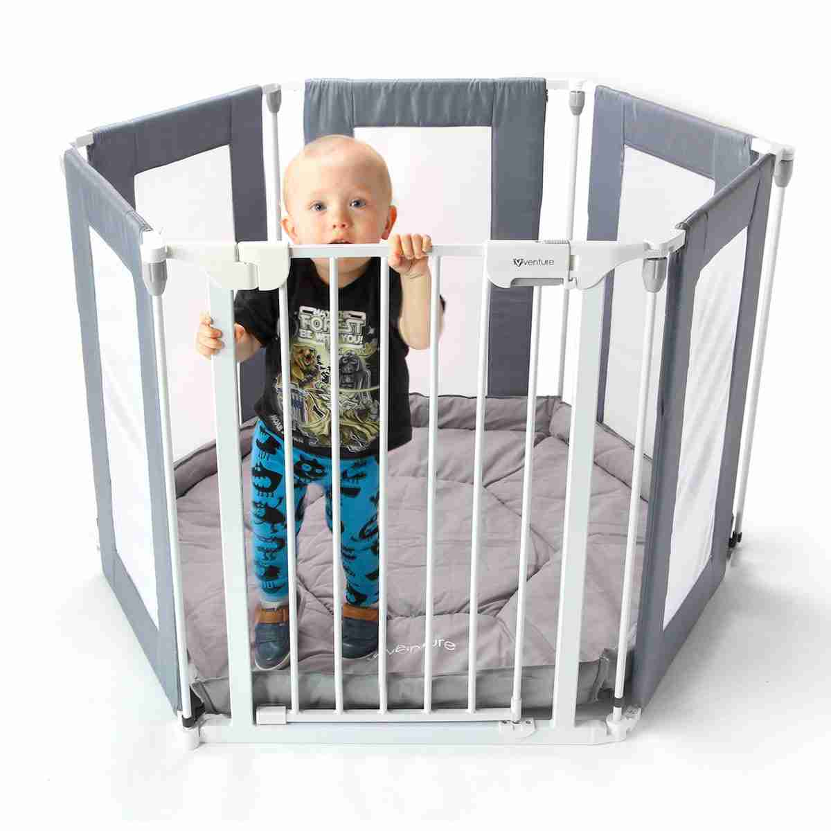Child in the All Stars HEX Playpen