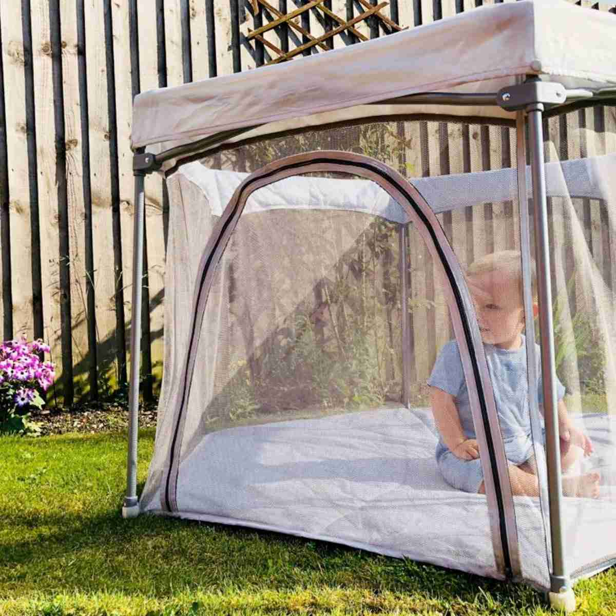 Let your baby enjoy the outdoors safely