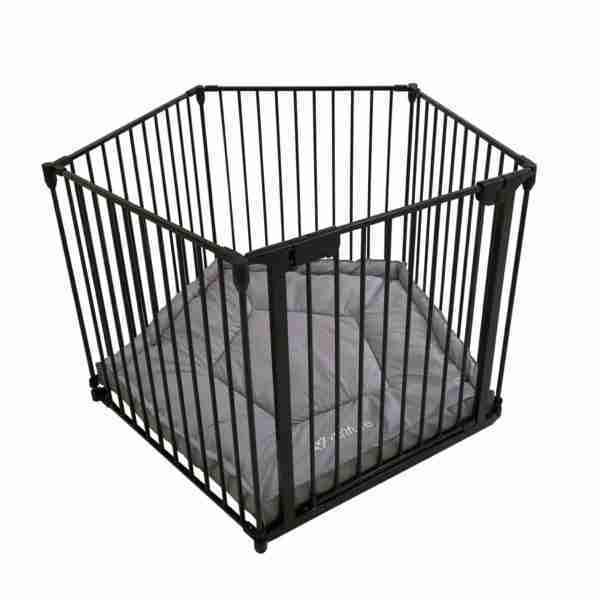 Venture All Stars VUE playpen is a foldable for easy storage.