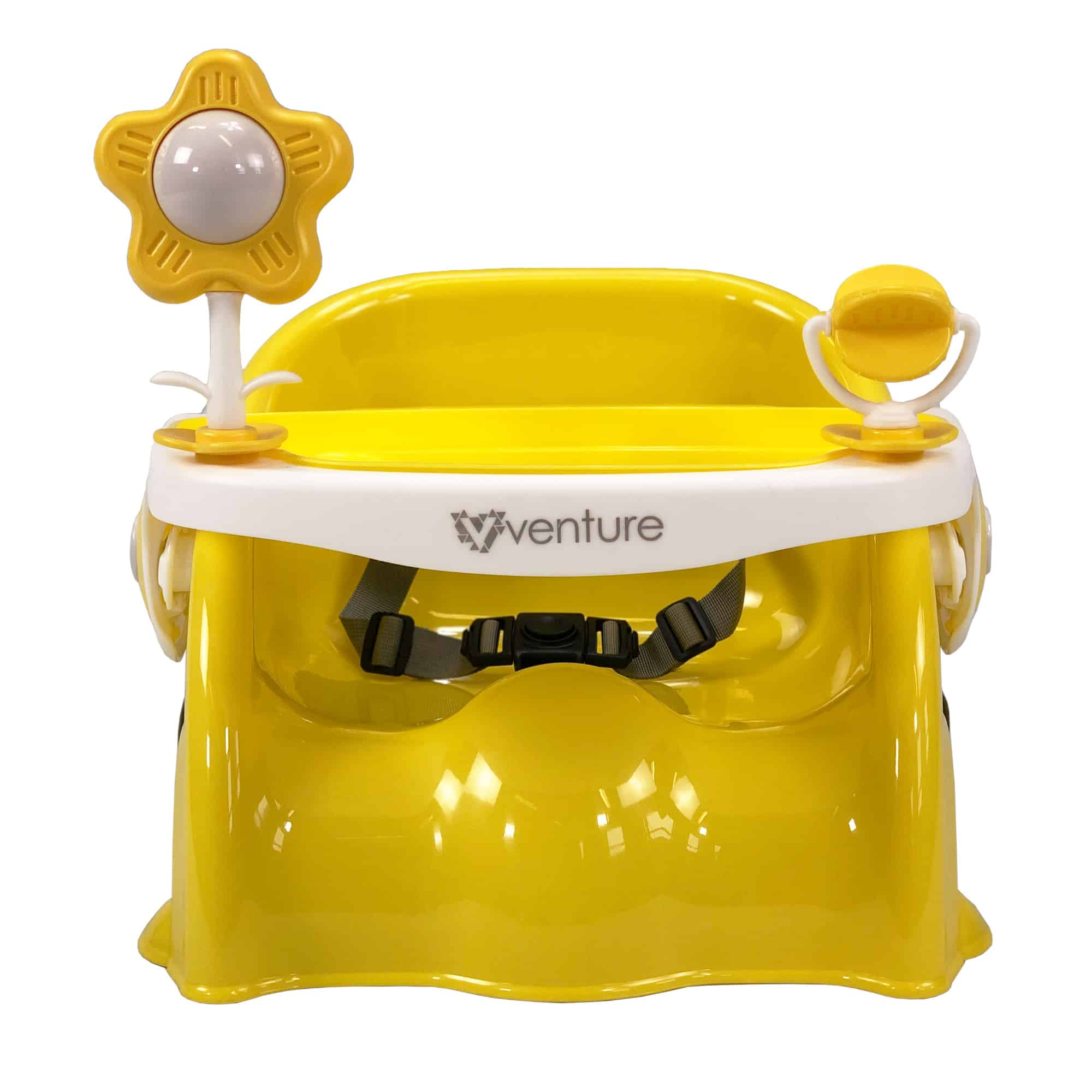 The Venture Bubble booster seat in sunny yellow