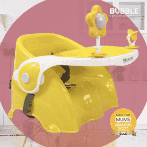 Venture Bubble Booster Seat In Sunny Yellow