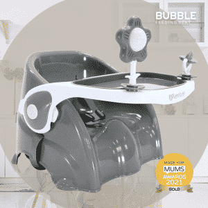The Venture Bubble Booster Seat Made For Mums 2021 Award Winner - Storm Grey