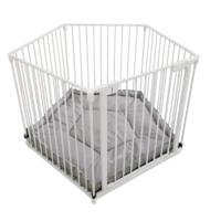 Venture All Stars VUE Playpen in white