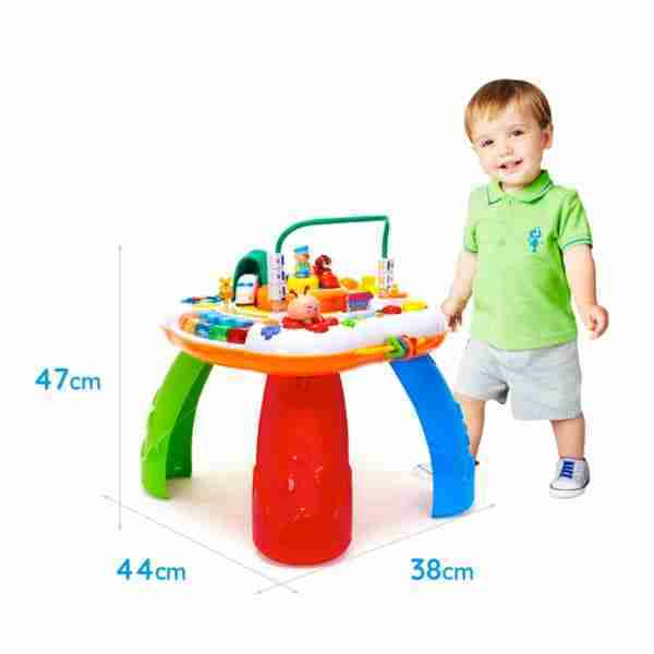 The Mini Me and friends activity table stands at 47cm