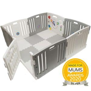 All Stars DUO Playpen in Grey