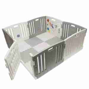 The Venture All Star DUO Playpen in Grey