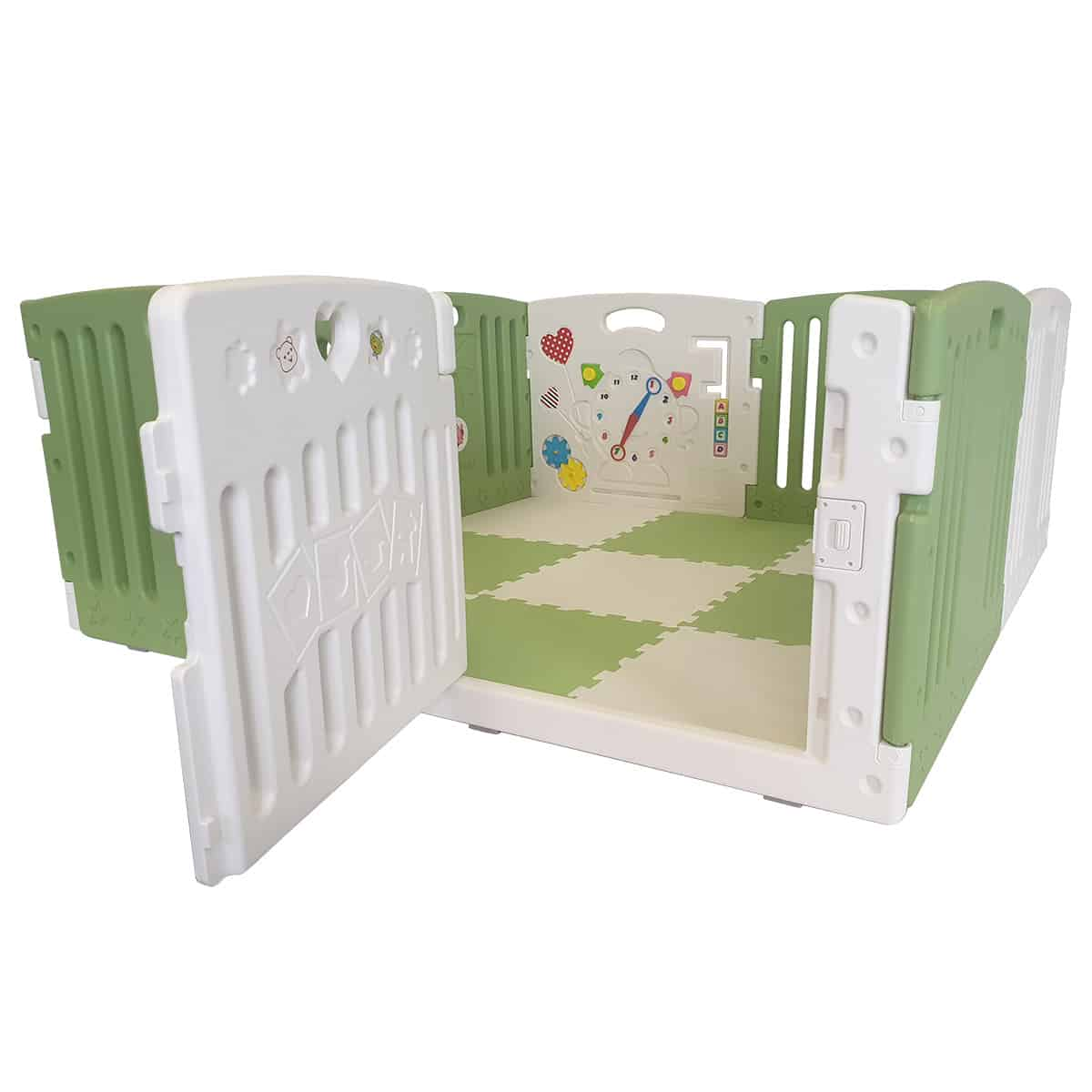 A safe and secure space for your baby to play
