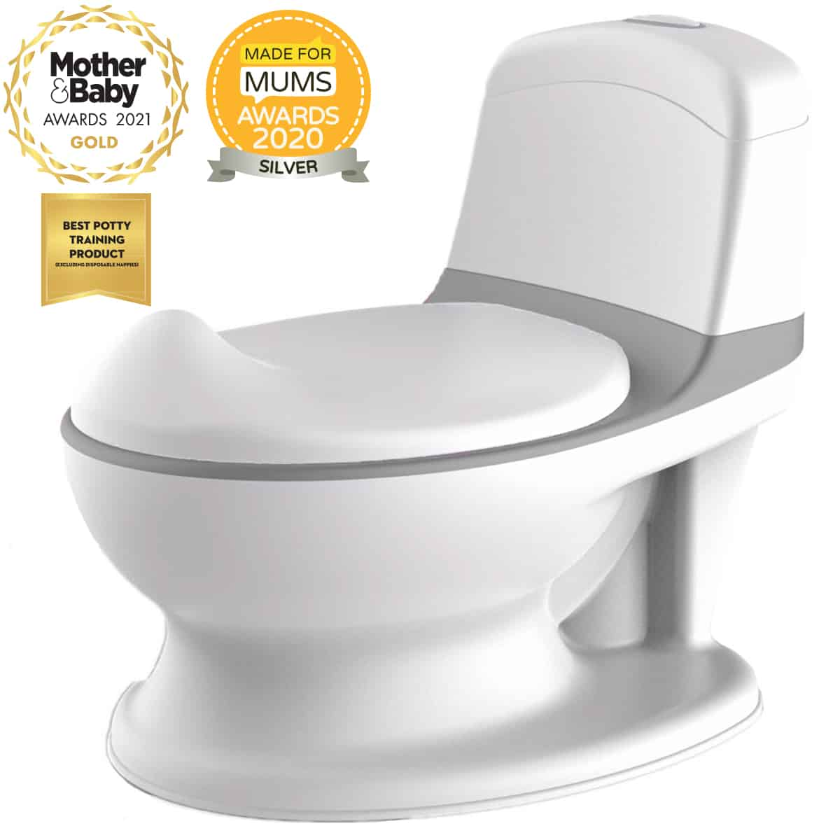 Pote Plus Grey - Awarding Winning Potty Training Product 2021