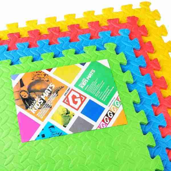 Multicoloured playmats perfect for baby playpens and bedrooms