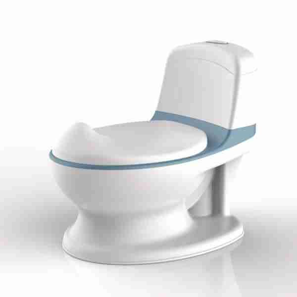 The Pote Plus in blue is a fantastic all round use potty