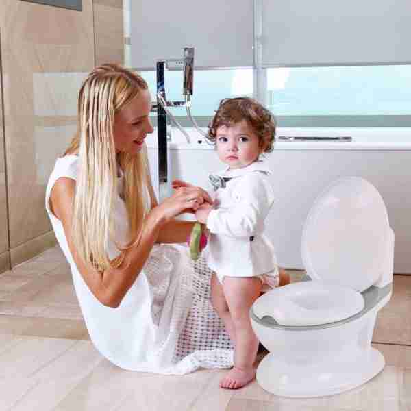 The Pote Plus potty by Venture UK comes in 3 color variations.