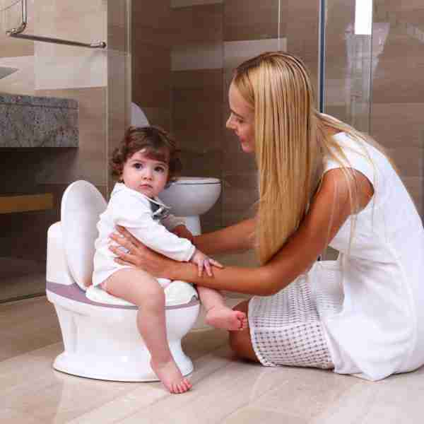 The Pote Plus potty makes toilet training easy