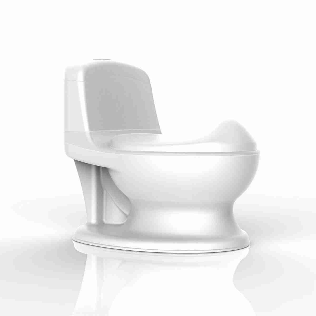 Pote Plus My First WC potty in white