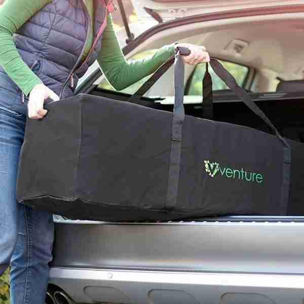 The Venture buggy carry bag makes transporting your stroller easy