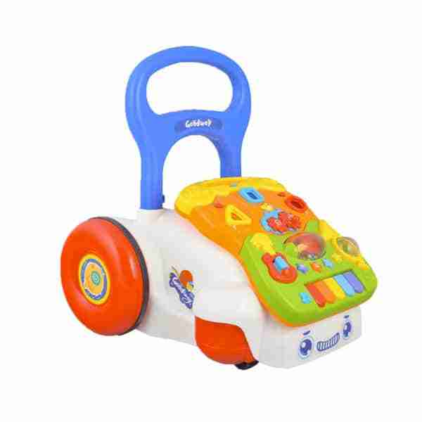 The Venture First Steps Baby Walker is a great way of supporting your child as they learn to walk