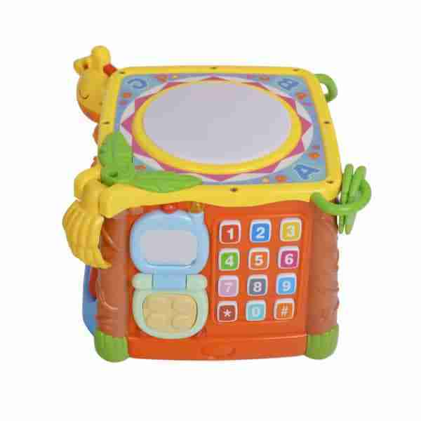 A telephone side teaches your child about numbers