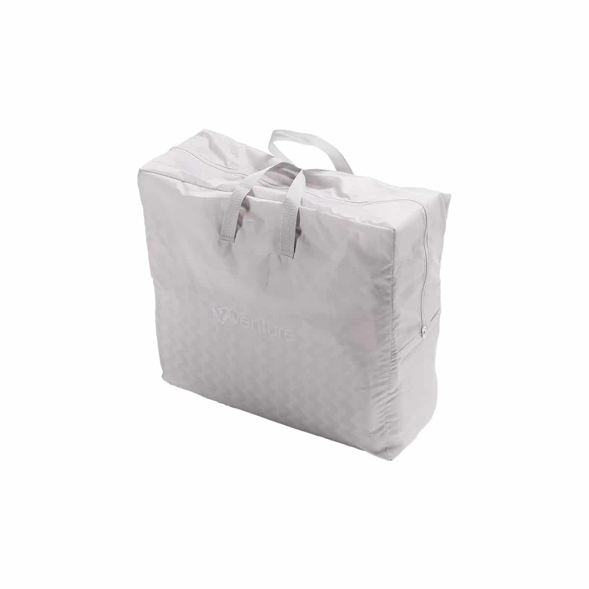 Folds down to fit into it's handy travel bag