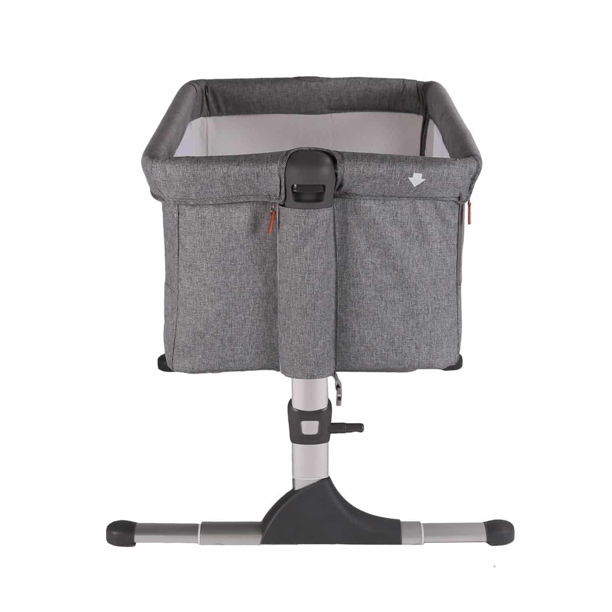 The Hush Co-Sleeper has multiple height adjustments