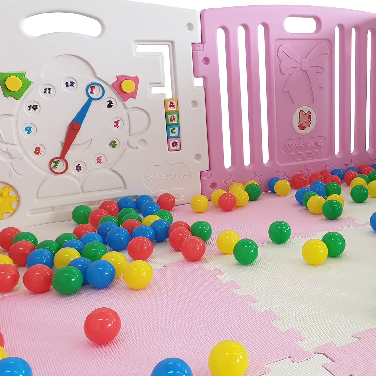 Venture All Stars DUO popping pink playpen