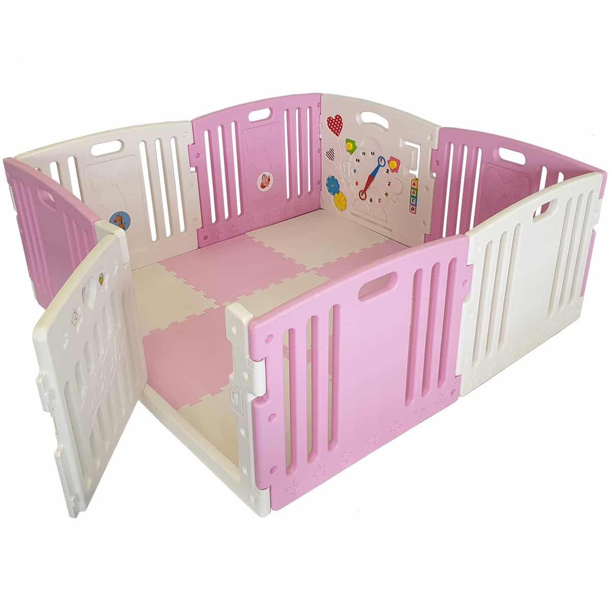 Venture All Stars DUO pink baby playpen