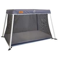 Venture Roma travel cot in slate grey